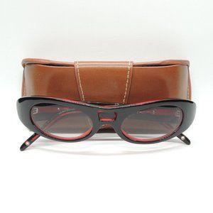 PILGRIM CAT EYE Black/Purple Gradient Sunglasses